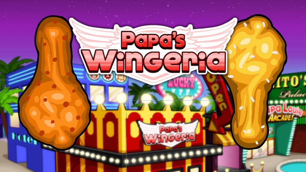 Papas Wingeria Game