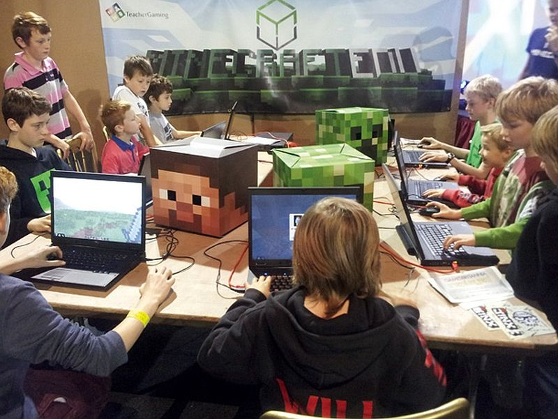 Minecraft Build up Kids Creativity